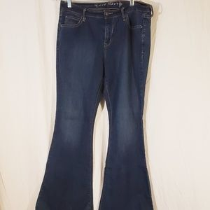 3/$25 Old Navy Flair Stretch jeans  size 10